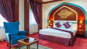 اتاق هتل مدینه الرضا مشهد