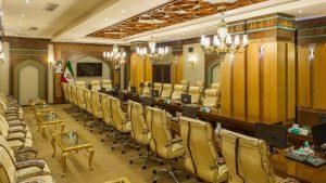 سالن کنفرانس هتل مدینه الرضا مشهد