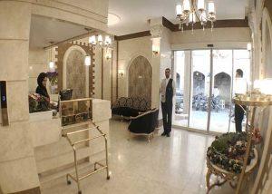 پذیرش هتل کوثر مشهد