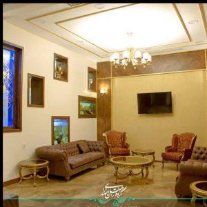 لابی هتل رواق مشهد