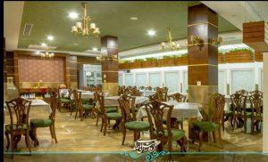 رستوران هتل رواق مشهد