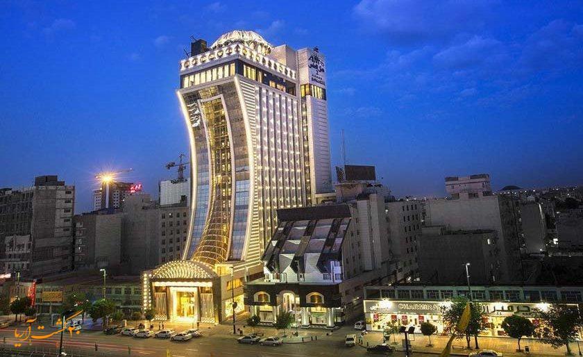نمای هتل الماس 2 مشهد