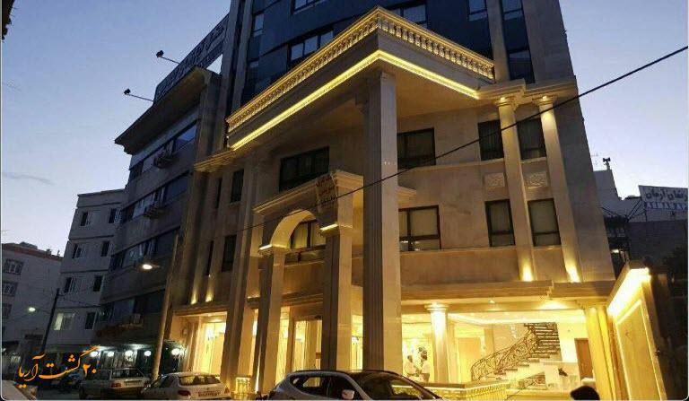 نمای هتل نسیم مشهد