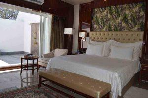 کابانا 2 تخته سانروف هتل داریوش کیش