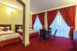 اتاق 3 تخته هتل لوتوس کیش