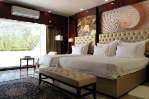 اتاق لوکس رو به باغ هتل داریوش کیش