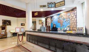 پذیرش هتل سارا کیش