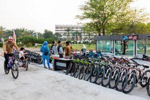 دوچرخه سواری هتل شایان کیش