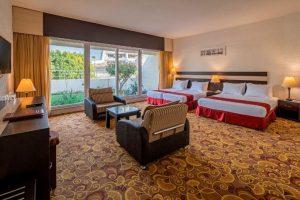 اتاق 4 تخته هتل شایان کیش