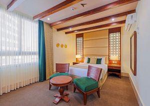 اتاق 2 تخته دلوکس هتل بوتیک ایرمان قشم