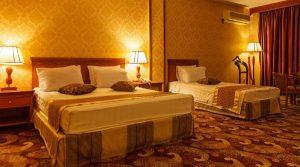 اتاق 3 تخته هتل پارمیس کیش
