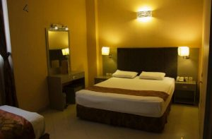 اتاق دبل هتل دیبا مشهد