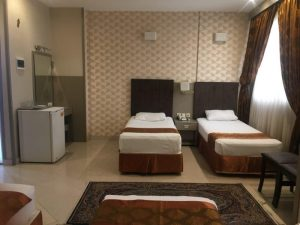 اتاق دبل توئین هتل دیبا مشهد