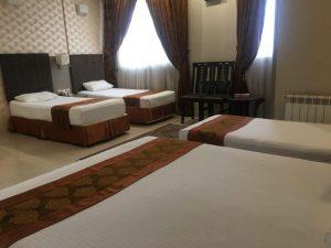 اتاق هتل دیبا مشهد