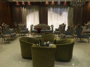 لابی هتل دیبا مشهد