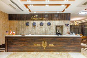 پذیرش هتل آتامان قشم
