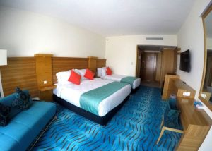 اتاق 3تخته هتل بین المللی کیش