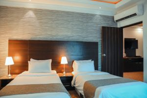 اتاق 2 تخته هتل صدف کیش