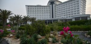 عکس نمای هتل بین المللی کیش