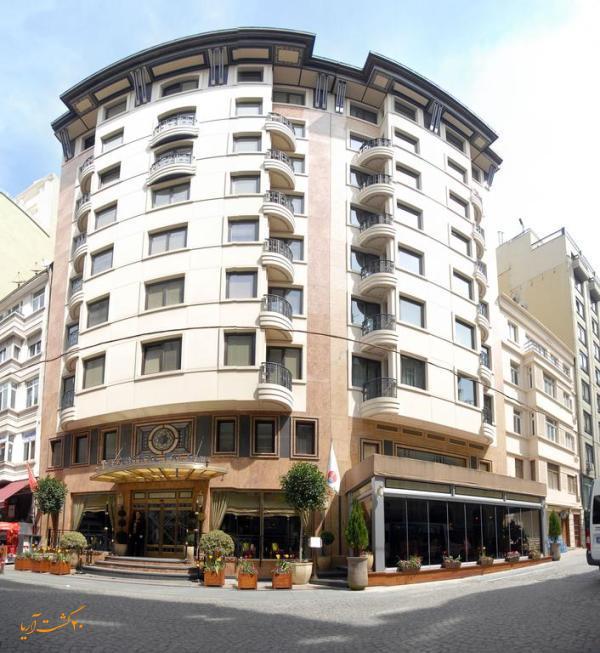 نمای خارجی هتل سنترال پالاس