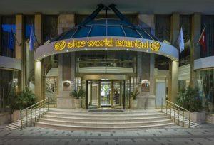 اتاق دبل هتل الیت ورد استانبول