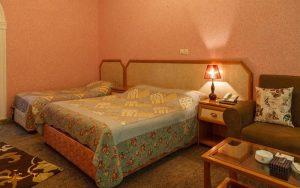 اتاق 3 تخته هتل آریان کیش