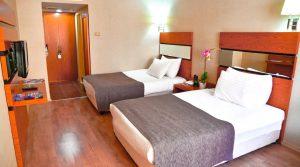 اتاق دو تخته هتل گرین پارک تکسیم