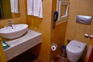 سرویس حمام و دستشویی هتل گرین پارک تکسیم