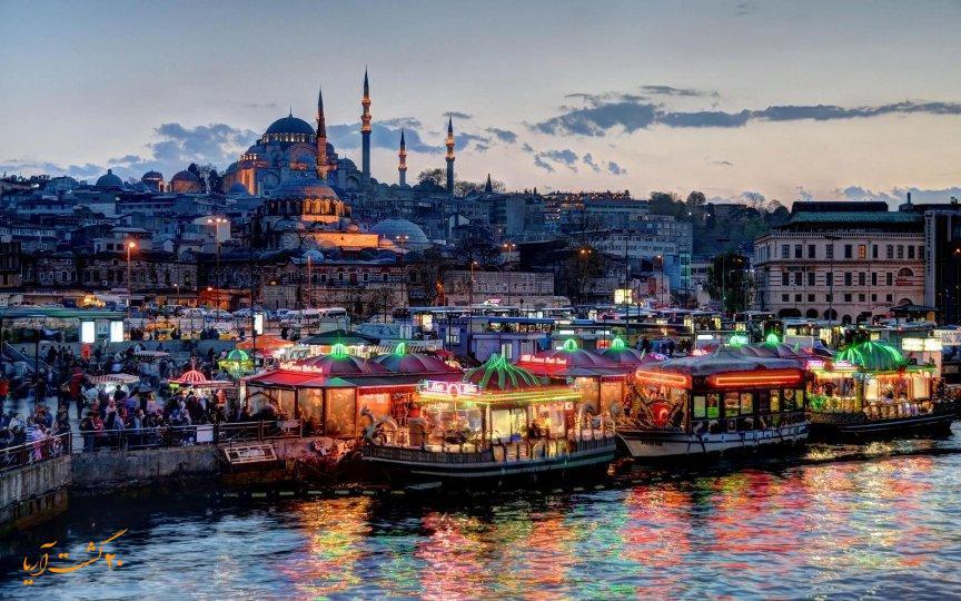 تور استانبول عید نوروز