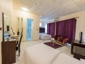اتاق 3 تخته هتل جام جم کیش
