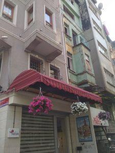 نمای هتل نوا فلتس استانبول