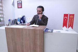 پذیرش هتل ریدل استانبول