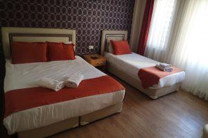 اتاق 3 تخته هتل ریدل استانبول
