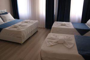 اتاق 4 تخته هتل ریدل استانبول