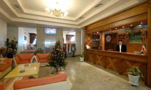 پذیرش هتل سان رایز کیش