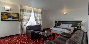 اتاق 2 تخته هتل سان رایز کیش